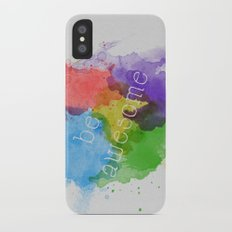 Be Awesome Slim Case iPhone X