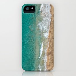 Kayaker on NaPali Coast iPhone Case