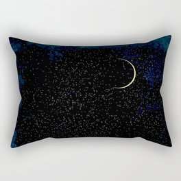 Crescent Moon Rectangular Pillow