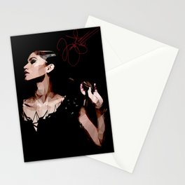 Zendaya in Low Poly Art Stationery Cards