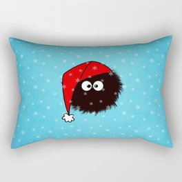 Cute Dazzled Bug Christmas Rectangular Pillow