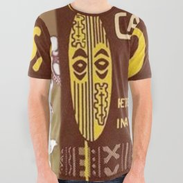Tiki Art - Coco's Calabash Bar All Over Graphic Tee