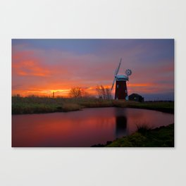 Horsey Windpump 01 Canvas Print