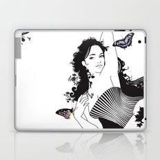 Black Nimf Laptop & iPad Skin