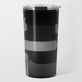 Mocha - Blackout Variant Travel Mug