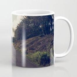The dusty road Coffee Mug