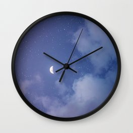 Lunes Wall Clock