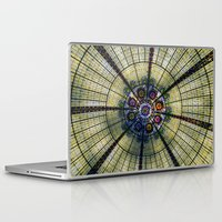 kaleidoscope Laptop & iPad Skins featuring Kaleidoscope   by Laura George