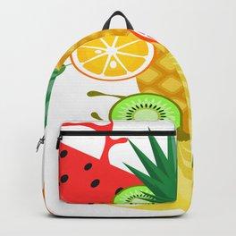 fruit orange food sweet healthy Backpack