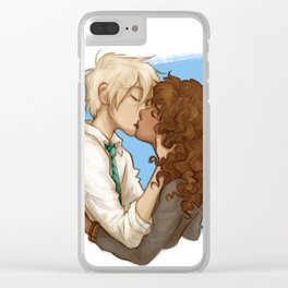 Kiss [Dramione] Clear iPhone Case
