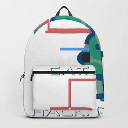 Hacker - Eat sleep hack repeate Backpack