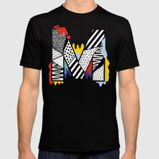 M for ... Black MEDIUM Mens Fitted Tee
