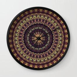 Mandala 252 Wall Clock