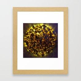 Volcanic Snack Framed Art Print