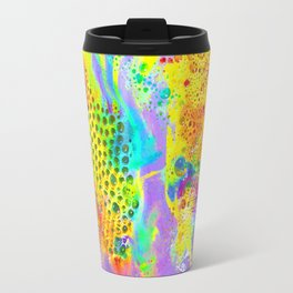Neon Bubbles Travel Mug
