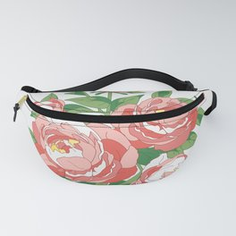 Bouquet of peonies Fanny Pack
