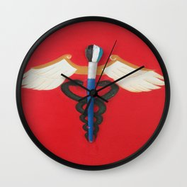 Medical Corps Snake Wall Clock
