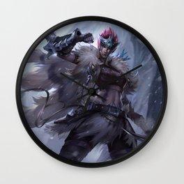 Woad Scout Quinn Splash Art Wallpaper Official Artwork League of Legends lol Wall Clock