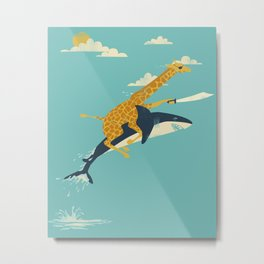 Onward! Metal Print