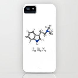 DMT Molecule Hallucinogenic design iPhone Case