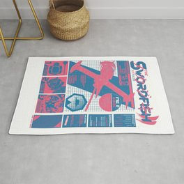 The Swordfish II Manufacturer's Guide (Cowboy Bebop) Rug