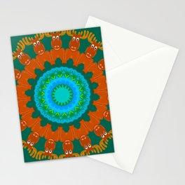 Moose Meadow Mandala Design Stationery Cards