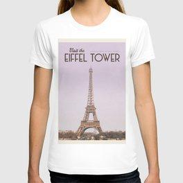 Visit Eiffel Tower T-shirt