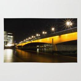 London Bridge at Night Rug