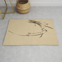Singing Orchid Rug