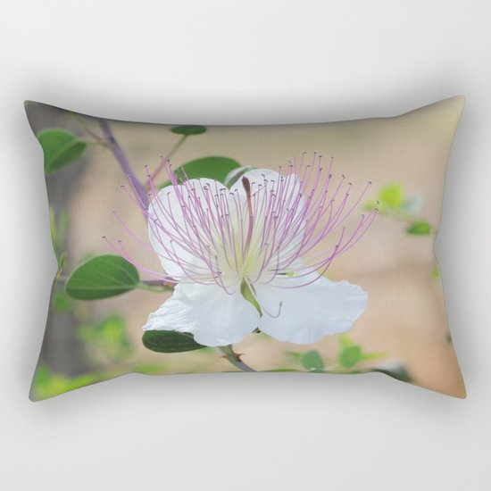 Silent Prayer Rectangular Pillow