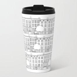 blocks of Brooklyn Metal Travel Mug