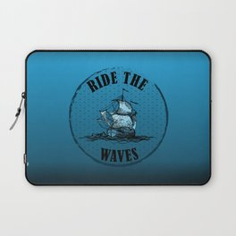 Ride the Waves Laptop Sleeve
