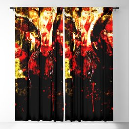 tarantula fangs wsd Blackout Curtain