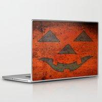 pumpkin Laptop & iPad Skins featuring Pumpkin by Renato Armignacco