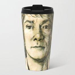 Portrait of a burglar Travel Mug