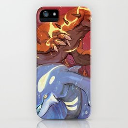 Omega Ruby & Alpha Sapphire iPhone Case