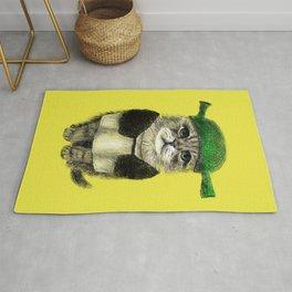 Shreky Cat Rug