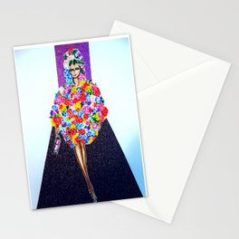 Romance On The Runway - Full Length Stationery Cards