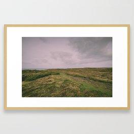 LES LANDES Framed Art Print
