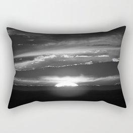 Black and White Delight Rectangular Pillow