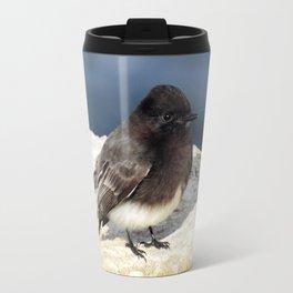 Black Phoebe Travel Mug