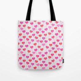 Heart Suckers Tote Bag