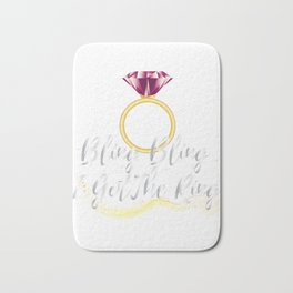 Bride For Wedding - Bride To Be Bath Mat