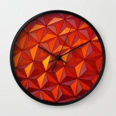 Geometric Epcot Wall Clock