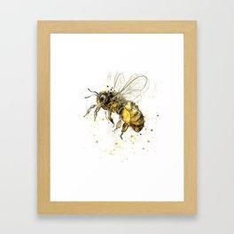 Honey Bee 2012  Framed Art Print