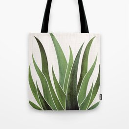 Vintage Agave / Desert Succulent Tote Bag