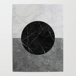 Marble Abstract Poster