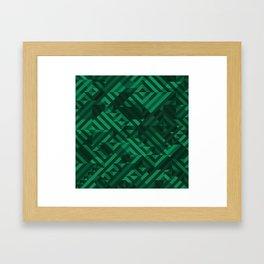 Atacamite Framed Art Print