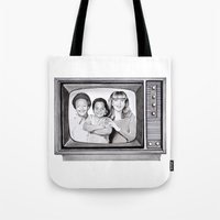 arnold Tote Bags featuring Arnold & willy by label tania