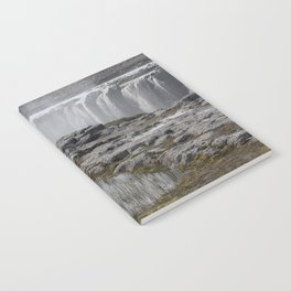 Selfoss waterfall in Iceland - nature landscape Notebook